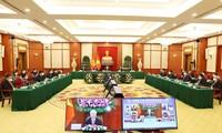 Líder vietnamita llama a los partidos políticos del mundo a unirse a la respuesta a los desafíos comunes