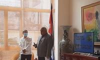Embajada cubana en Hanói informa sobre los sucesos del 11 de julio