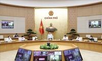 Gobierno vietnamita: Es necesario priorizar la lucha anticovid-19 y reanudar la producción en áreas seguras