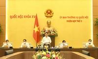 Concluye la tercera reunión del Comité Permanente de la Asamblea Nacional
