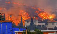 La erupción del volcán de la isla de La Palma entra en una nueva fase