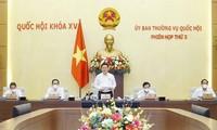 Preparan la agenda de la cuarta reunión del Comité Permanente del Parlamento vietnamita