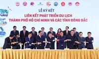 Connexion touristique entre Hô Chi Minh-Ville et les provinces du Nord-Est