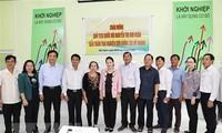 Nguyên Thi Kim Ngân en tournée de travail à Sóc Trang