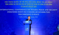 Clôture de la conférence internationale sur les femmes, la paix et la sécurité