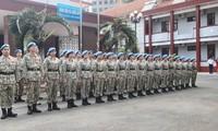 Formation des forces vietnamiennes de maintien de la paix pour le Soudan du Sud