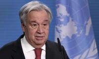 Le Secrétaire général des Nations Unies délivre un message pour 2021