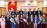 Nguyên Thi Kim Ngân au congrès national de l'Union des associations des lettres et des arts du Vietnam
