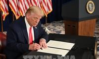 Donald Trump signe un décret restreignant les investissements en Chine