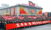 Des soldats et civils se rassemblent en RPDC pour manifester leur soutien aux décisions du Parti