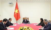Entretien téléphonique entre Nguyên Xuân Phuc et Scott Morrison