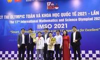 2 médailles d'or pour le Vietnam aux Olympiades internationales de mathématiques et de sciences