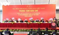 Conférence de presse internationale sur le 13e Congrès national du Parti