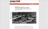 Le procès de l'agent orange intenté par Trân Tô Nga couvert par les médias étrangers