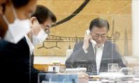 Moon Jae-in et Joe Biden discutent par téléphone de la question de la péninsule coréenne