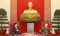 Le ministre chinois de la Sécurité publique reçu par Nguyên Phu Trong et Nguyên Xuân Phuc