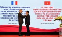 Châu Van Minh a reçu la légion d'honneur