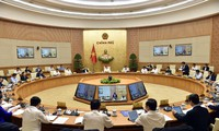 Première réunion du nouveau gouvernement