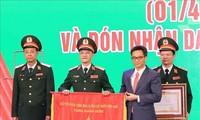 """L'Hôpital central militaire 108 s'est vu décerné le titre """"Héros du travail"""""""