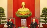 Le ministre chinois de la Défense reçu par Nguyên Phu Trong