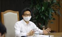 Vu Duc Dam ordonne le durcissement des contrôles sanitaires dans les centres de confinement collectif