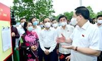 Législatives 2021: Vuong Dinh Huê en déplacement à Tuyên Quang