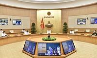 Covid-19: Pham Minh Chinh travaille avec les autorités de Bac Giang et de Bac Ninh