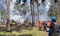 Philippines : au moins 50 morts dans le crash d'un avion militaire