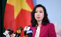 Le Vietnam soutient la résolution pacifique des litiges en mer Orientale
