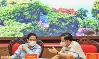 Pham Minh Chinh travaille avec les autorités de Hanoï