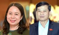 Nguyên Hoa Binh, Vo Thi Anh Xuân et Lê Minh Tri reconduits dans leur fonction