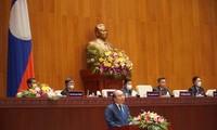 Discours de Nguyên Xuân Phuc devant l'Assemblée nationale du Laos
