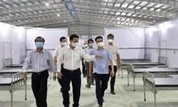 Vu Duc Dam inspecte les dispositifs anti-Covid-19 dans la province de Tây Ninh