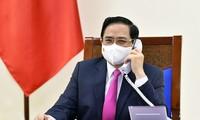 Pham Minh Chinh s'entretiendra mercredi au téléphone avec son homologue belge