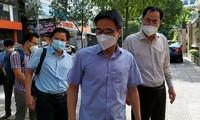 Vu Duc Dam inspecte le Centre de bien-être social de Hô Chi Minh-ville