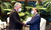 La visite de Nguyên Xuân Phuc largement couverte par la presse cubaine
