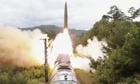 Washington condamne le nouveau tir de missile de Pyongyang