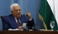 Le président palestinien s'entretient avec une délégation israélienne