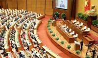 L'agenda de la deuxième session de l'Assemblée nationale, quinzième législature