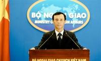 เวียดนามยืนยันอีกครั้งเกี่ยวกับอธิปไตยเหนือหมู่เกาะ Hoang Sa และ Truong Sa