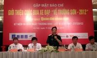 การแข่งปั่นจักรยานกลับสู่ภู Trường Sơn ปี 2012 จะมีขึ้นในระหว่างวันที่ 15-20 กรกฎาคม