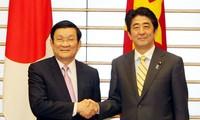ผลักดันความร่วมมือยุทธศาสตร์ในทุกด้านระหว่างเวียดนามกับญี่ปุ่น