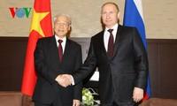 เวียดนามและสหพันธรัฐรัสเซียออกแถลงการณ์ร่วมเกี่ยวกับการขยายความสัมพันธ์หุ้นส่วนยุทธศาสตร์ในทุกด้าน