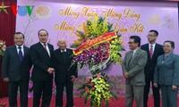 """ตัวแทนชาวเวียดนามที่อาศัยในต่างประเทศเข้าร่วมกิจกรรมต่างๆในกรอบรายการ """"วสันต์ฤดูในบ้านเกิดปี 2015"""""""