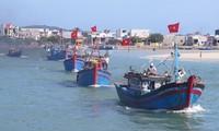 ชาวประมงจังหวัดแค้งหว่าเริ่มออกทะเลทำประมงในเขตทะเลเจื่องซาหรือสเปรตลีย์