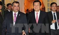 ประธานประเทศเจืองเติ๊นซางให้การต้อนรับคณะกรรมการบริหารไอพียู