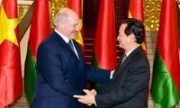 ประธานาธิบดีเบลารุสเสร็จสิ้นการเยือนเวียดนามอย่างเป็นทางการ