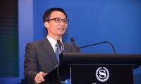 รองนายกรัฐมนตรีหวูดึ๊กดามเข้าร่วมฟอรั่มการชำระทาง E- Bangkingในเวียดนาม