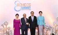นายกรัฐมนตรีเวียดนามหารือกับนายกรัฐมนตรีไทยและนายกรัฐมนตรีลาว