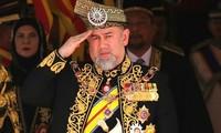 กษัตริย์มาเลเซียทรงสละราชสมบัติ